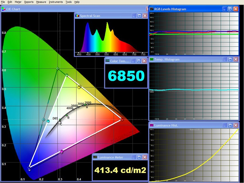 Beamer BenQ W700+ im Test, Bild 4