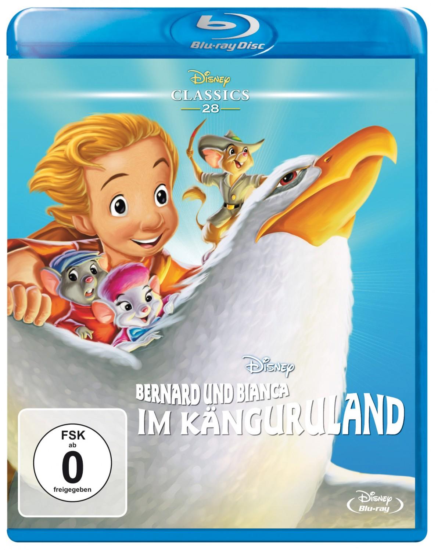 Blu-ray Film Bernard und Bianca – Die Mäusepolizei / … im Känguruland (Disney) im Test, Bild 2
