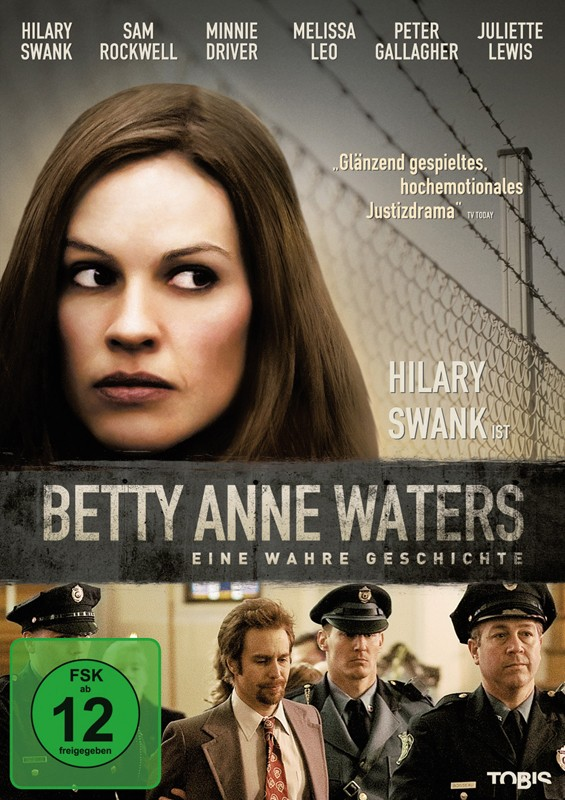 DVD Film Betty Anne Waters (Universal) im Test, Bild 1