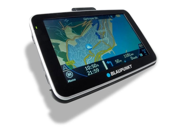 Portable Navigationssysteme Blaupunkt TravelPilot 50 im Test, Bild 1