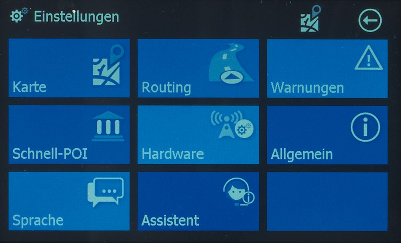 Portable Navigationssysteme Blaupunkt TravelPilot 50 im Test, Bild 2