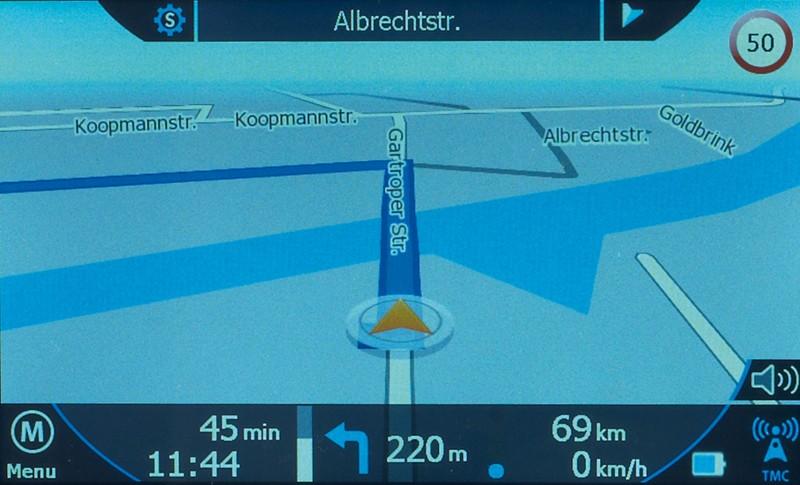 Portable Navigationssysteme Blaupunkt TravelPilot 50 im Test, Bild 3