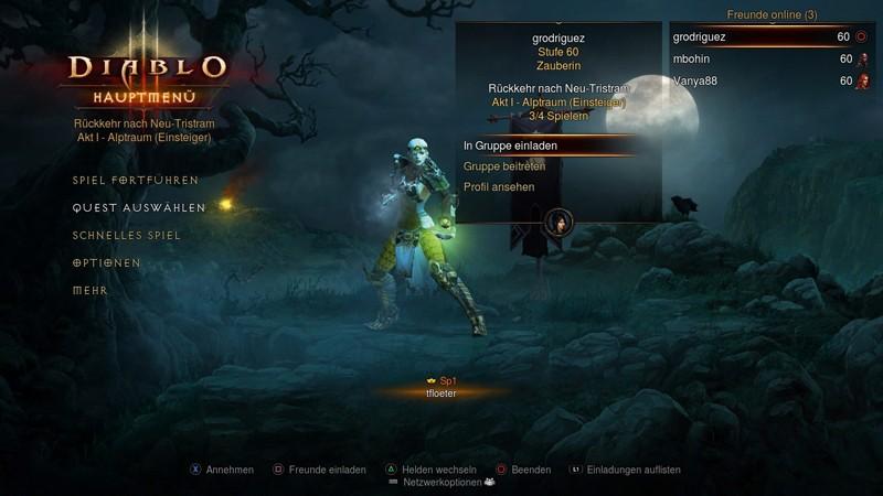 Games Playstation 3 Blizzard Diablo 3 im Test, Bild 3
