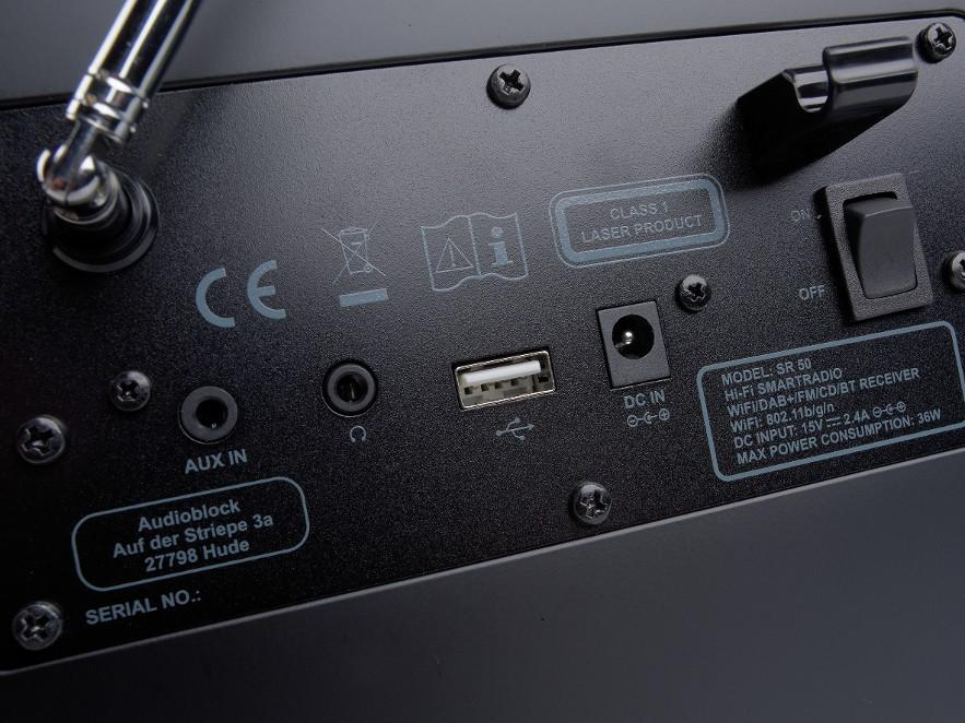 Musiksystem Block SR-50 im Test, Bild 3