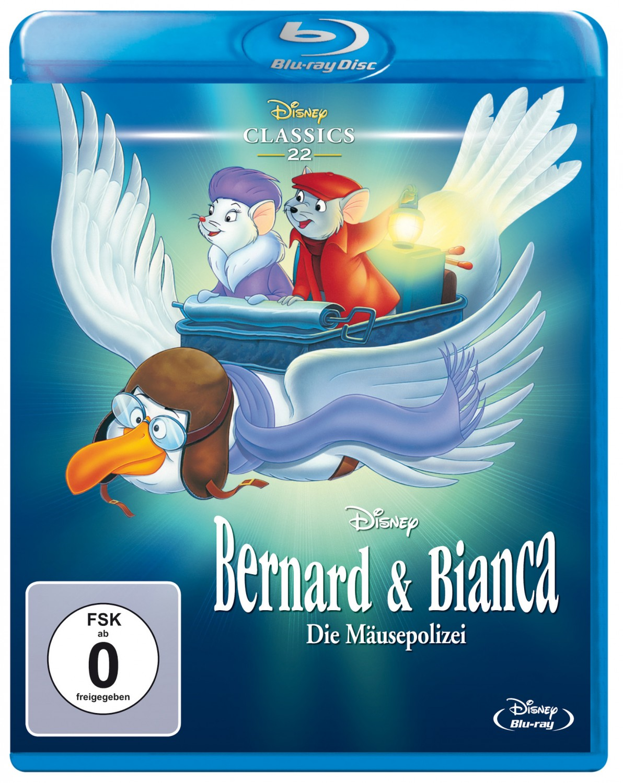 Blu-ray Film Bernard und Bianca – Die Mäusepolizei / … im Känguruland (Disney) im Test, Bild 1