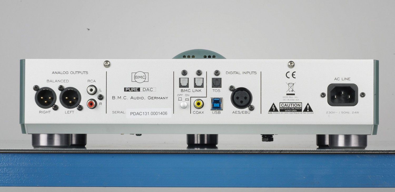 D/A-Wandler B.M.C. Audio PureDAC im Test, Bild 3