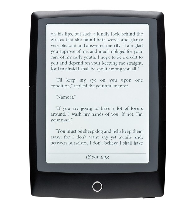 E-Book Reader Bookeen HD Frontlight im Test, Bild 1