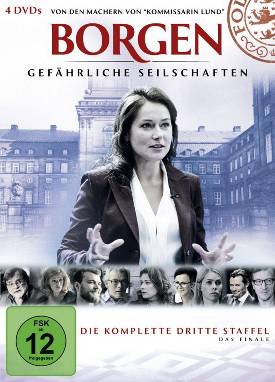Blu-ray Film Borgen – Gefährliche Seilschaften (Staffel 3) (WVG Medien) im Test, Bild 1