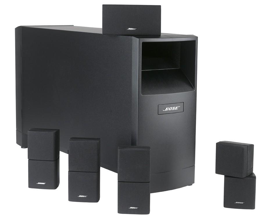 test lautsprecher surround bose acoustimass 15 sehr. Black Bedroom Furniture Sets. Home Design Ideas
