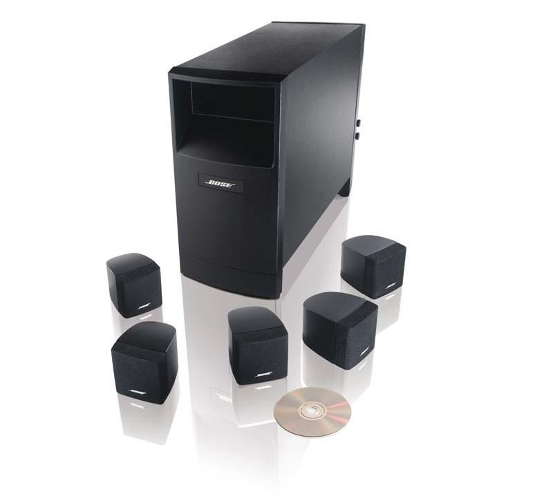 test lautsprecher surround bose acoustimass 6 sehr gut bildergalerie bild 2. Black Bedroom Furniture Sets. Home Design Ideas