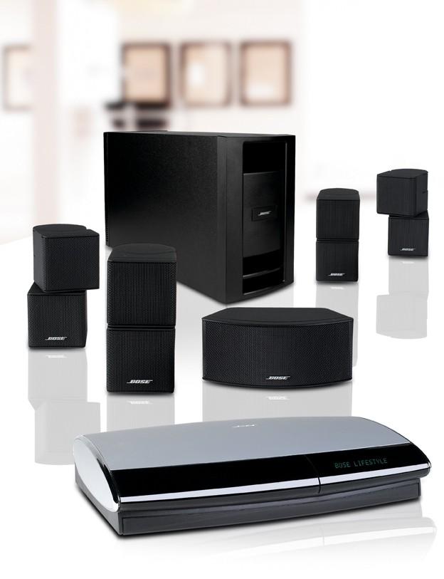 test lautsprecher surround bose lifestyle 48 sehr gut seite 1. Black Bedroom Furniture Sets. Home Design Ideas