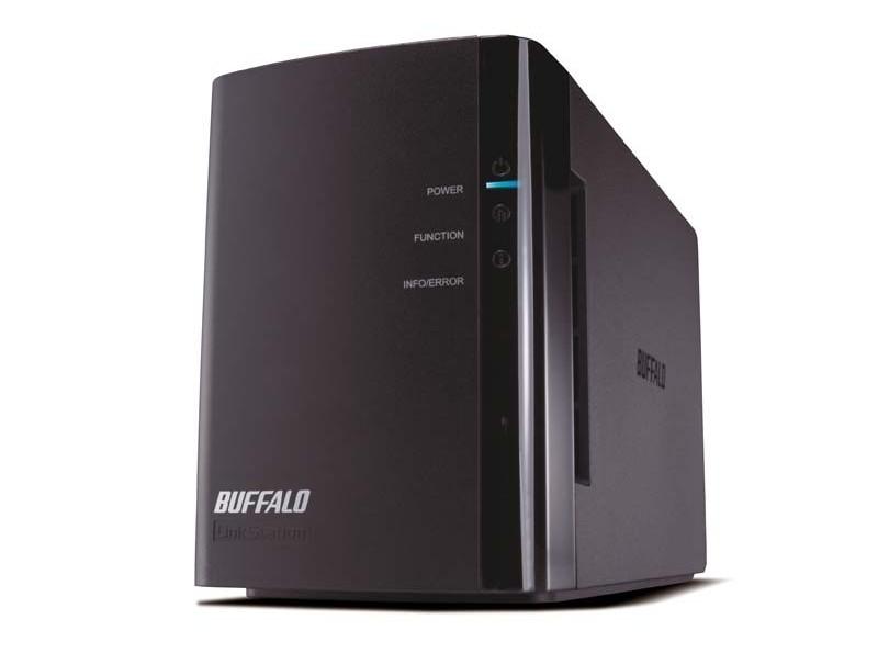 Netzwerk-Festplatten Buffalo Linkstation Duo im Test, Bild 1