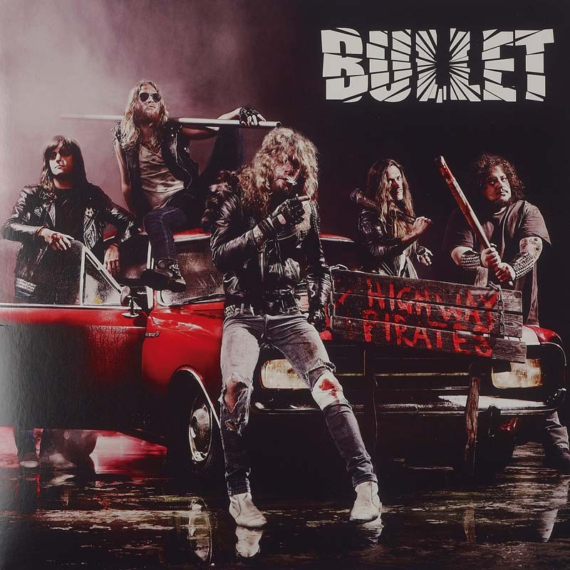 Schallplatte Bullet – Highway Pirates (Black Lodge Records) im Test, Bild 1
