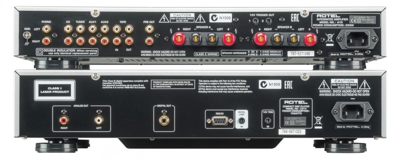 Lautsprecher Stereo B&W Bowers & Wilkins 686 S2, Rotel CD14, Rotel A10 im Test , Bild 4