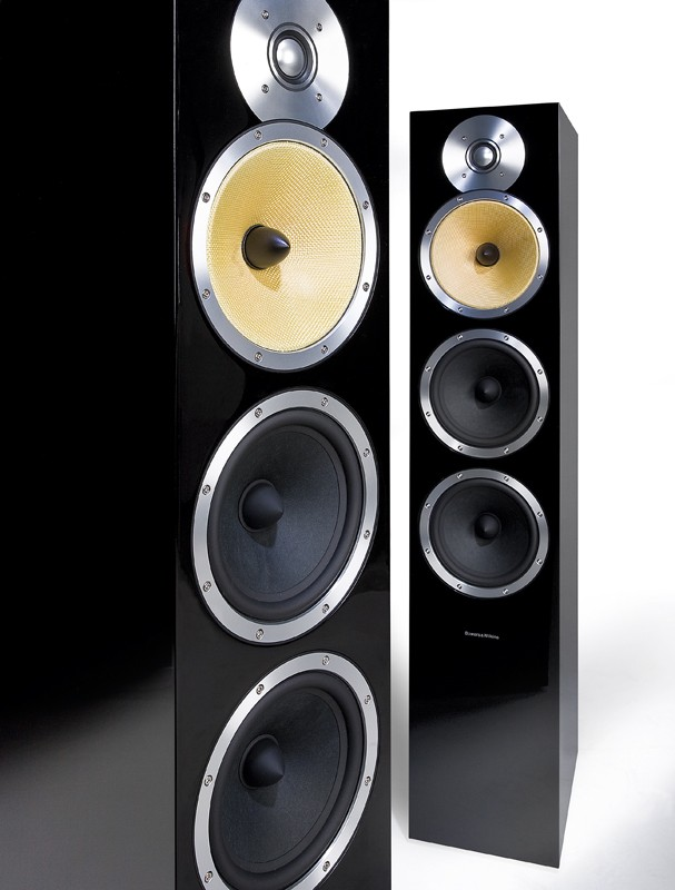 test lautsprecher stereo b w bowers wilkins cm9 sehr. Black Bedroom Furniture Sets. Home Design Ideas