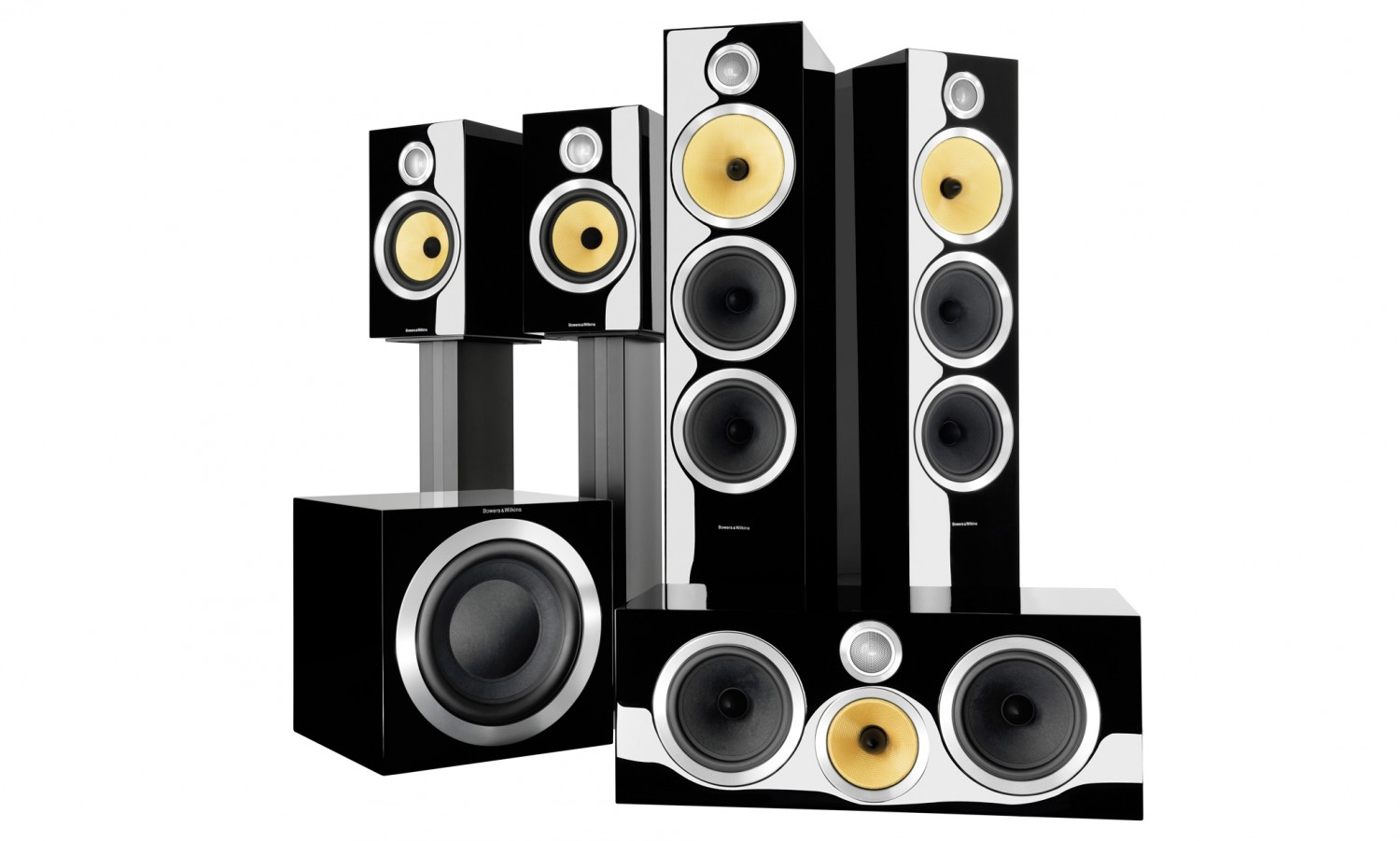 test lautsprecher surround b w bowers wilkins cm9 s2. Black Bedroom Furniture Sets. Home Design Ideas