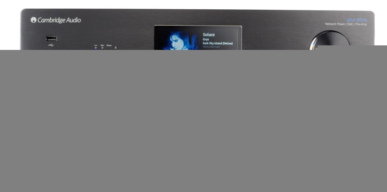 DLNA- / Netzwerk- Clients / Server / Player Cambridge Audio Azur 851N im Test, Bild 1