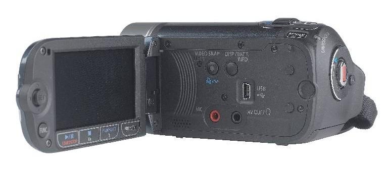 Camcorder Canon Legria FS200 im Test, Bild 3