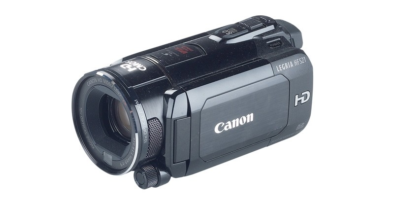 Camcorder Canon Legria HF S21 im Test, Bild 2