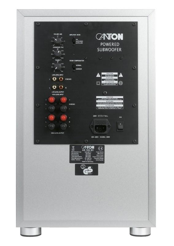 Lautsprecher Surround Canton GLE 490 - Serie im Test, Bild 3