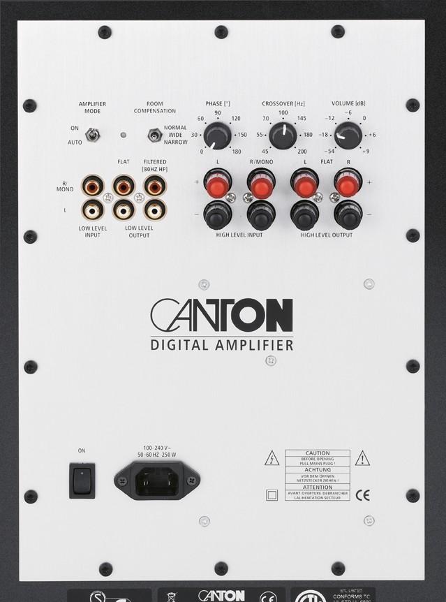 Lautsprecher Surround Canton Karat 711 im Test, Bild 5