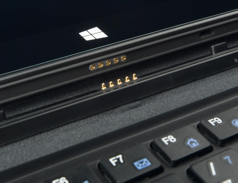 Tablets Captiva PAD 10.1 Windows HD/KB im Test, Bild 2