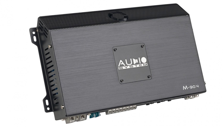 Car-HiFi Endstufe 4-Kanal Audio System M-90.4 im Test, Bild 2