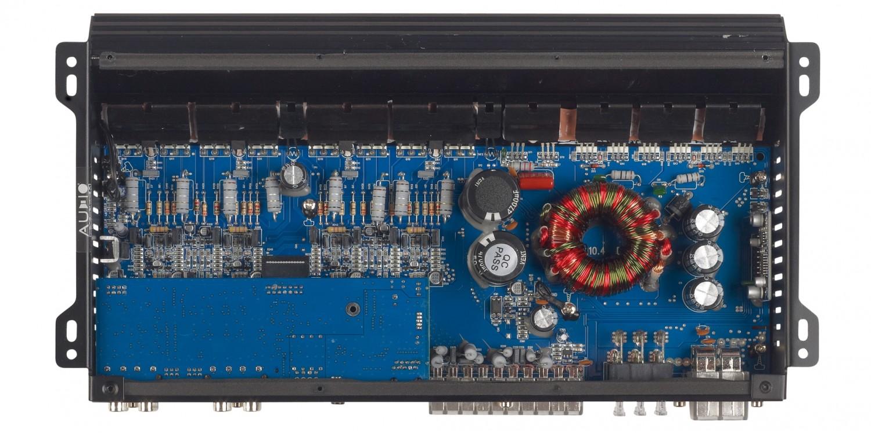 Car-HiFi Endstufe 4-Kanal Audio System R-110.4 DSP im Test, Bild 6