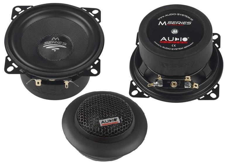 test car hifi lautsprecher 10cm audio system m 100 plus. Black Bedroom Furniture Sets. Home Design Ideas