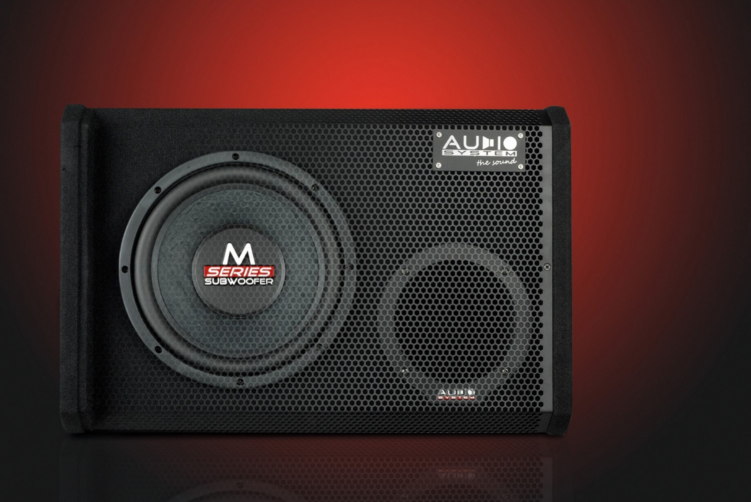 test car hifi subwoofer aktiv audio system m 10 active. Black Bedroom Furniture Sets. Home Design Ideas