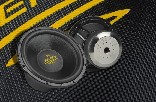 test car hifi subwoofer chassis audio system h15 sehr gut. Black Bedroom Furniture Sets. Home Design Ideas