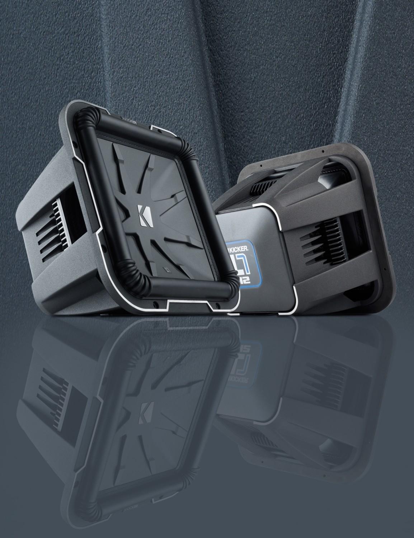 test car hifi subwoofer chassis kicker 12l7 sehr gut. Black Bedroom Furniture Sets. Home Design Ideas