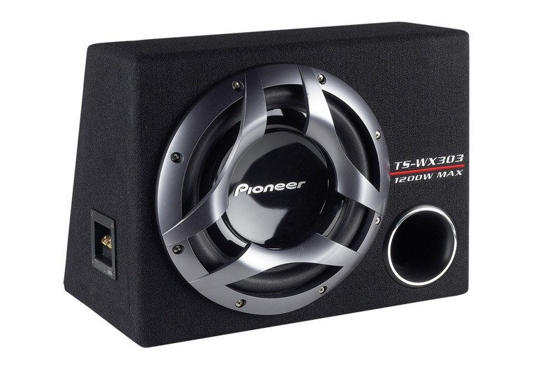 test car hifi subwoofer geh use pioneer ts wx303 sehr gut. Black Bedroom Furniture Sets. Home Design Ideas