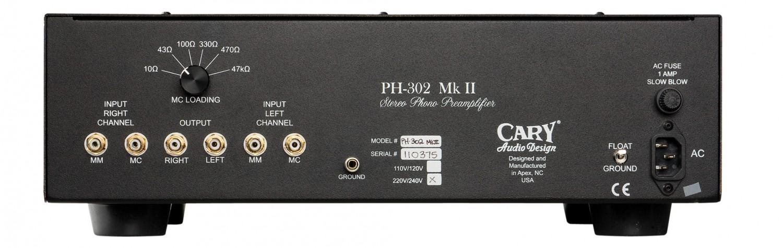 Phono Vorstufen Cary Audio PH 302 MK II MM/MC im Test, Bild 3
