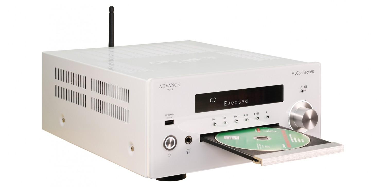 CD-Receiver Advance Paris MyConnect 60, quadral Chromium Style 2 im Test , Bild 5