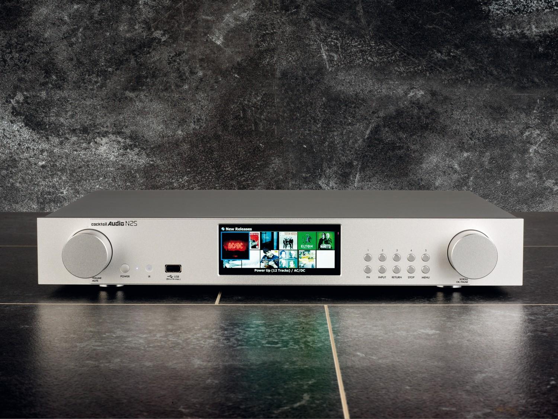 DLNA- / Netzwerk- Clients / Server / Player Cocktail Audio N25 im Test, Bild 1