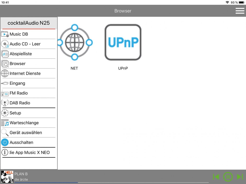 DLNA- / Netzwerk- Clients / Server / Player Cocktail Audio N25 im Test, Bild 11