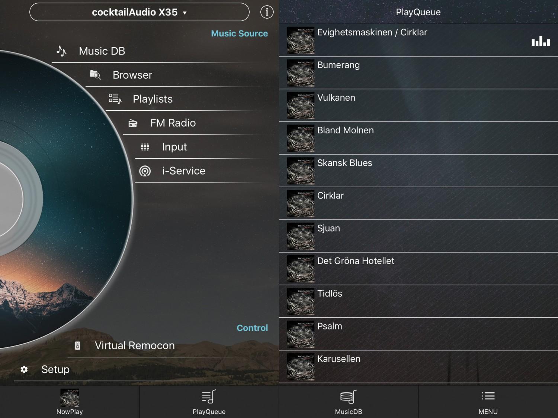 DLNA- / Netzwerk- Clients / Server / Player Cocktail Audio X35 im Test, Bild 7