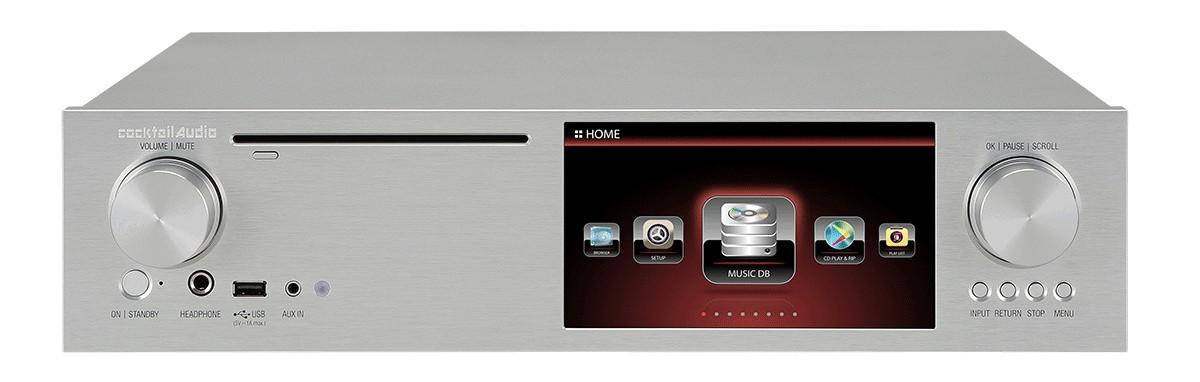 DLNA- / Netzwerk- Clients / Server / Player Cocktail Audio X35 im Test, Bild 1