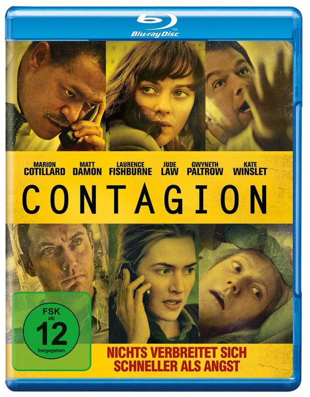 Blu-ray Film Contagion (Warner) im Test, Bild 1
