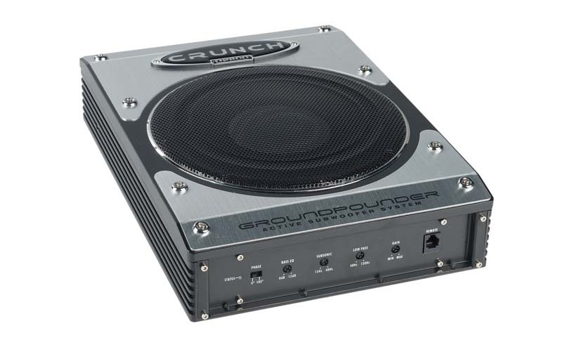 Car-Hifi Subwoofer Aktiv Crunch GP800 im Test, Bild 1