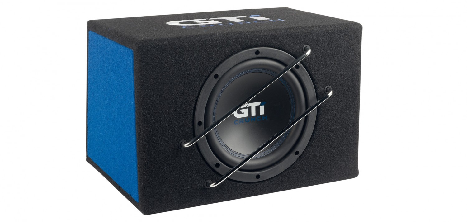 In-Car Subwoofer Aktiv Crunch GTI800A im Test, Bild 1