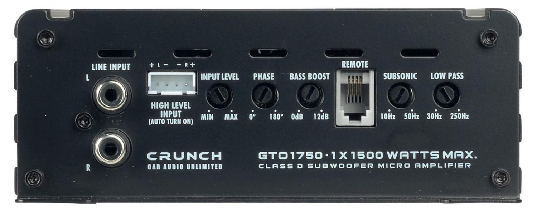 Car-HiFi Endstufe Mono Crunch GTO1750, Crunch GTO3750, Crunch GTO4125 im Test , Bild 2