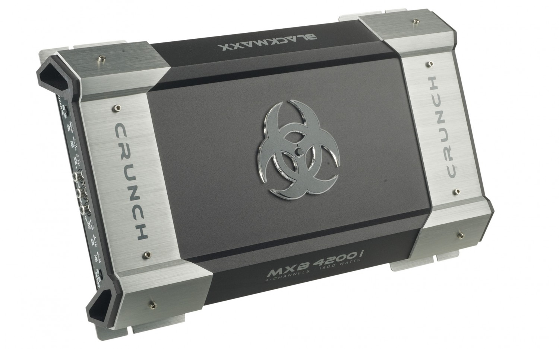 Car-HiFi Endstufe 4-Kanal Crunch MXB4200i im Test, Bild 3