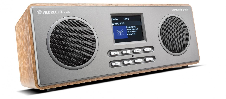 test dab radio albrecht dr880 sehr gut. Black Bedroom Furniture Sets. Home Design Ideas