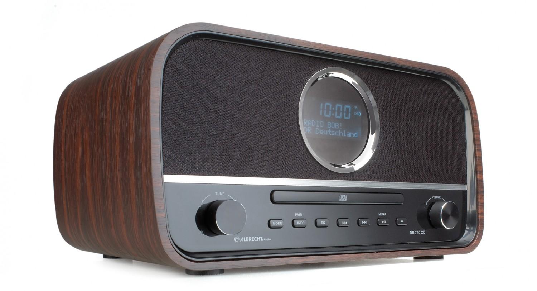 test dab radio albrecht dr 790 cd sehr gut. Black Bedroom Furniture Sets. Home Design Ideas