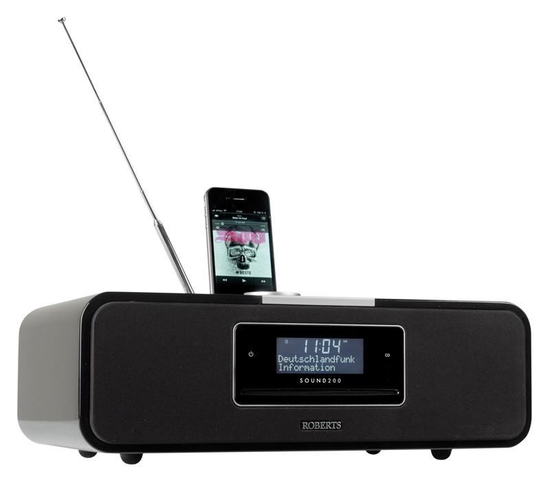 test dab radio roberts sound 200 sehr gut. Black Bedroom Furniture Sets. Home Design Ideas