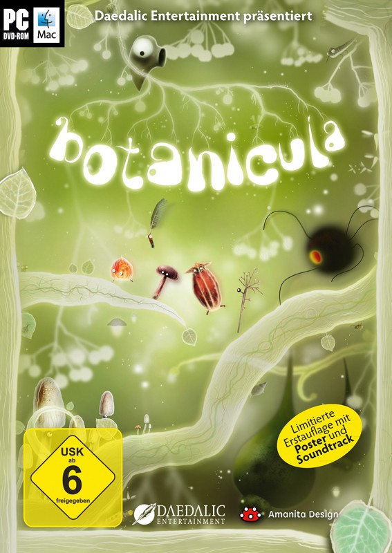 Games PC Daedalic Entertainment Botanicula im Test, Bild 1
