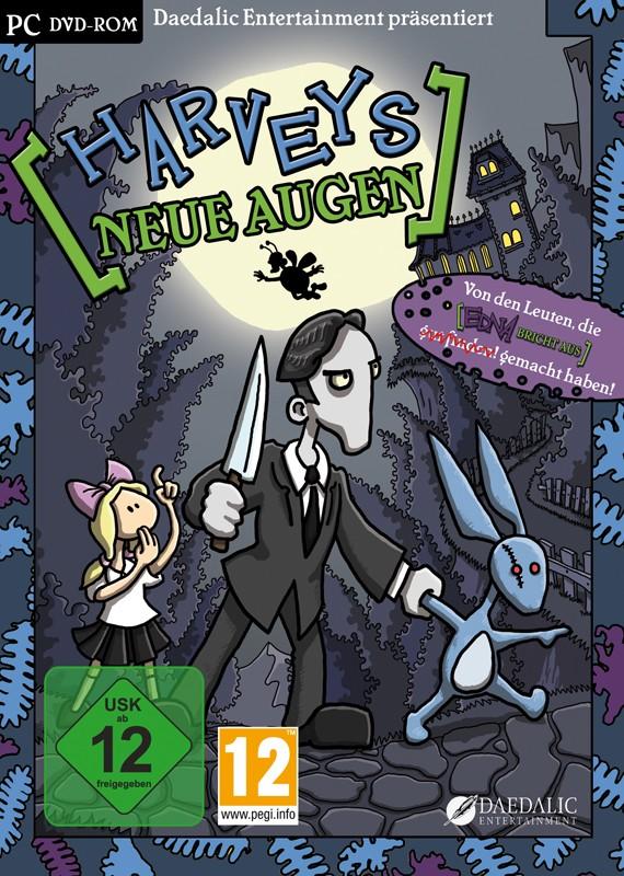Games PC Daedalic Entertainment Harveys neue Augen im Test, Bild 1