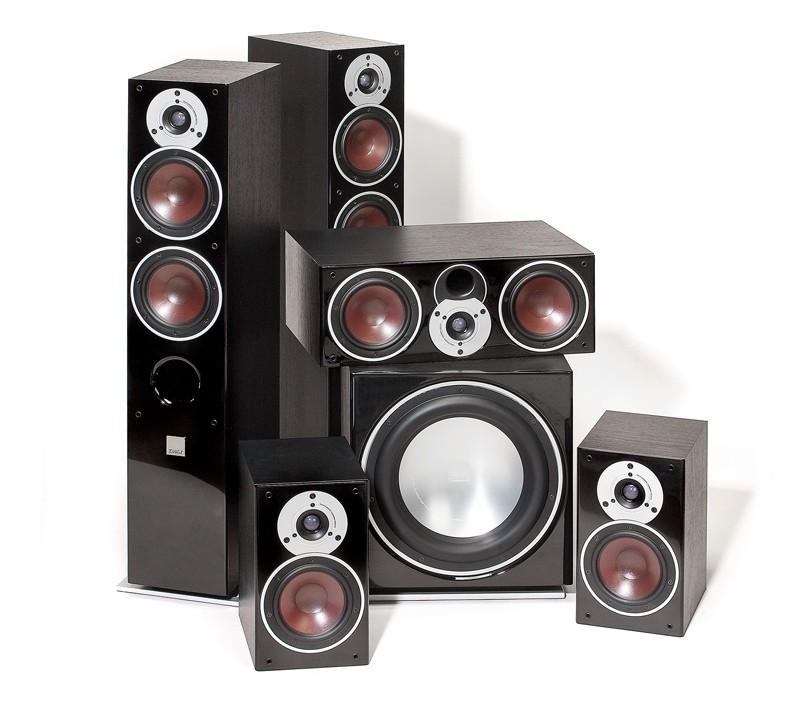 test lautsprecher surround dali zensor 5 1 set sehr gut seite 1. Black Bedroom Furniture Sets. Home Design Ideas